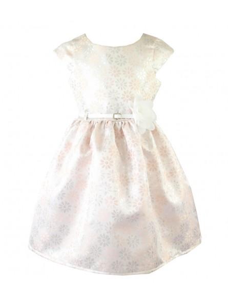 efd5e9b70e View full size. Sukienka okolicznościowa dla dziewczynki w kwiatuszki ...