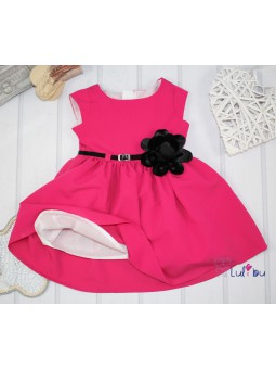 Sukienka ROZALKA różowa 62-152