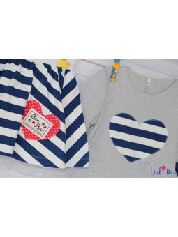 Bawełniana bluzeczka dla dziewczynki Bon Bon