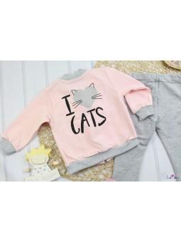 Dres dla dziewczynki CATS  62- 110
