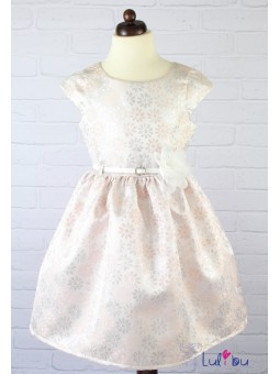 Sukienka okolicznościowa dla dziewczynki w kwiatuszki