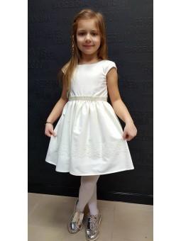 Sukienka wizytowa dla dziewczynki do chrztu, komunii