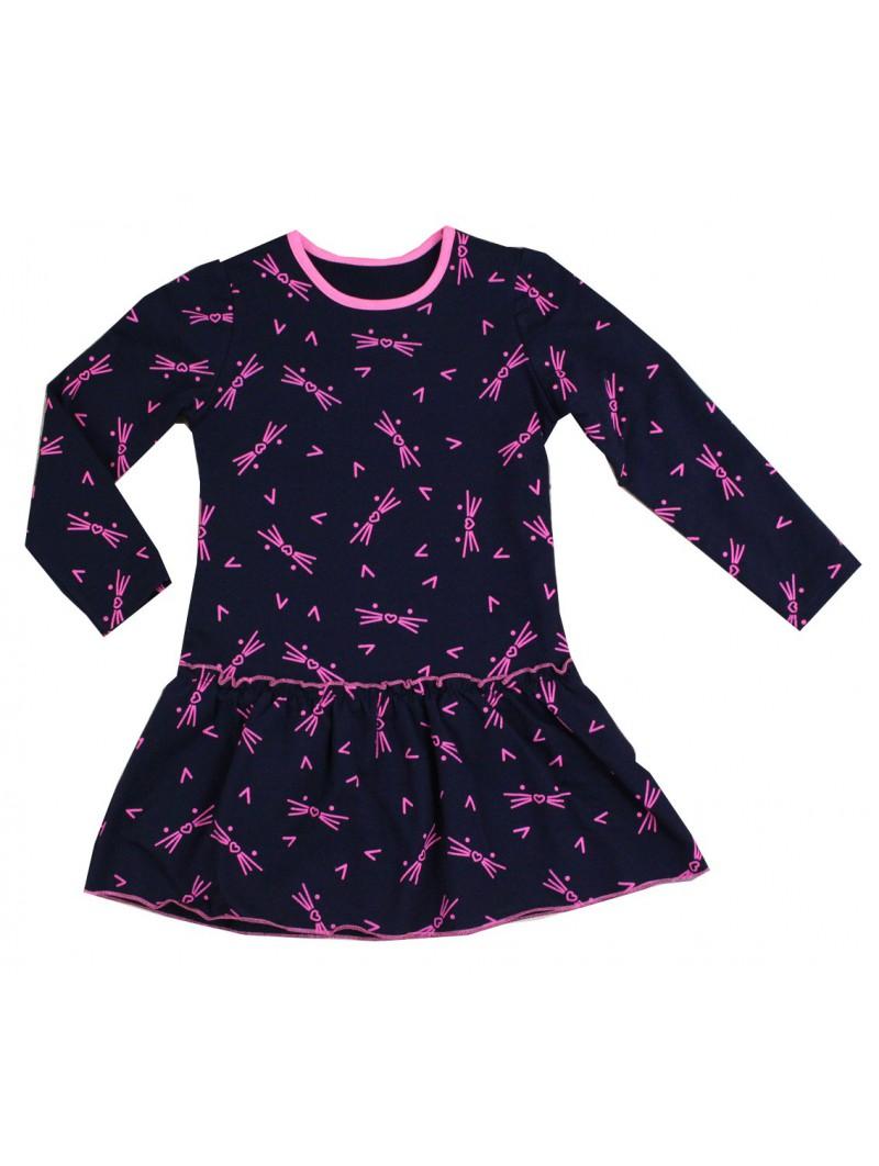 Sukienka POLA w kocie buzie 92-128