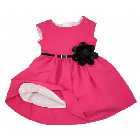 Sukienka ROZALKA w pięknym, różowym kolorze