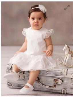 Sukienka do chrztu dla dziewczynki Antonina Balumi