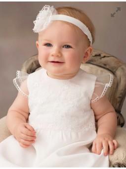 Sukienka do chrztu dla dziewczynki Marcelina Balumi