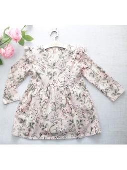 Sukienka dla dziewczynki newbie różowa